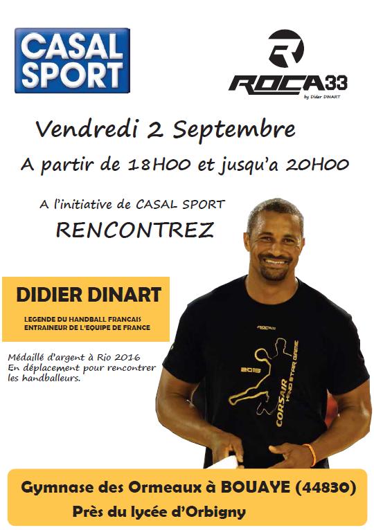 Didier Dinart à Bouaye