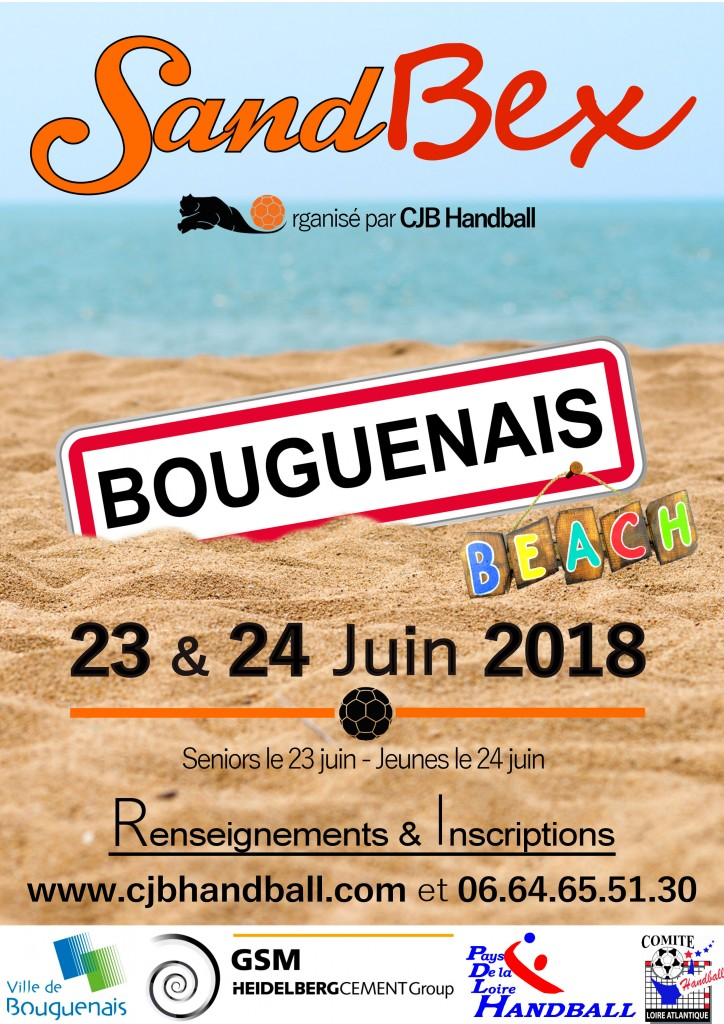 Sandball du 23 & 24 juin sur le parking du Piano'cktail