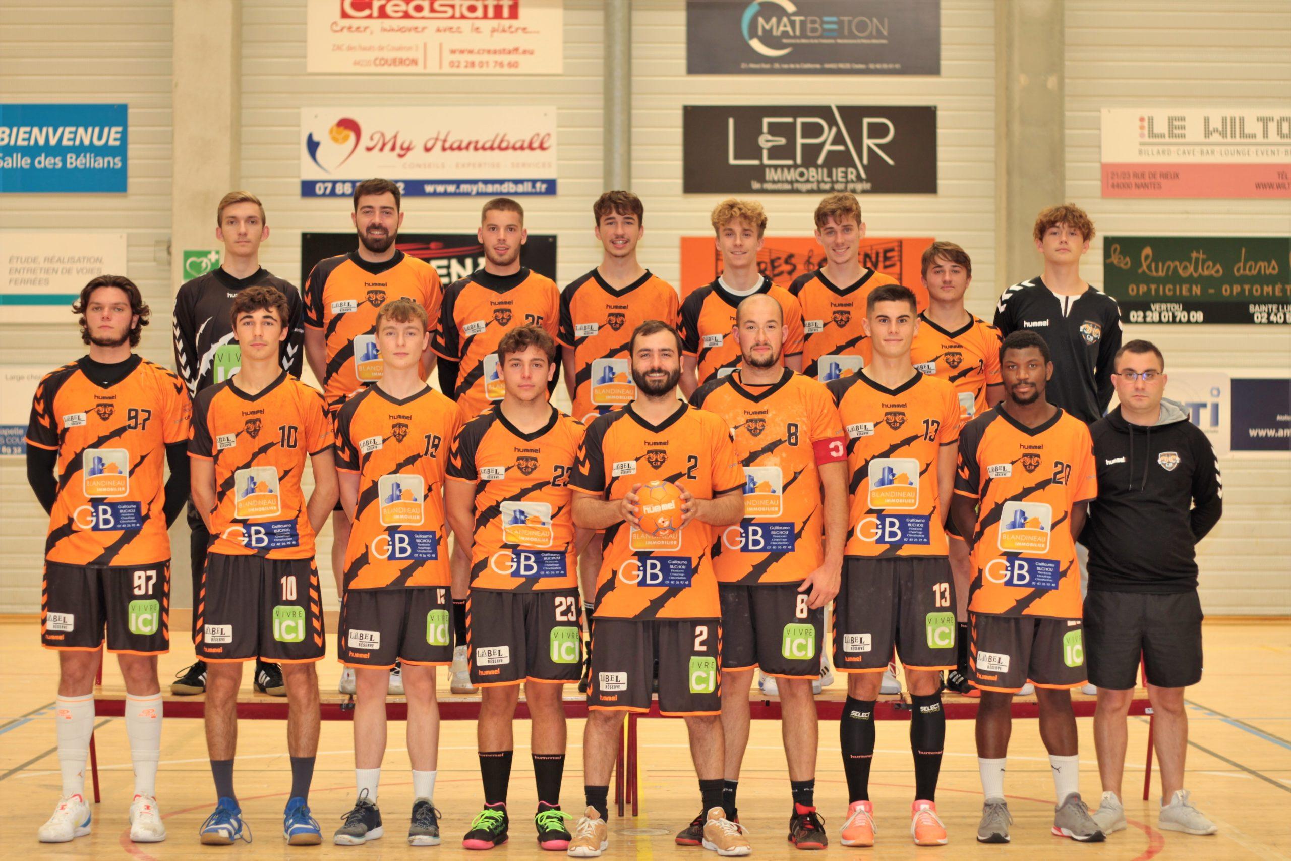 Excellence région cjb handball bouguenais nantes